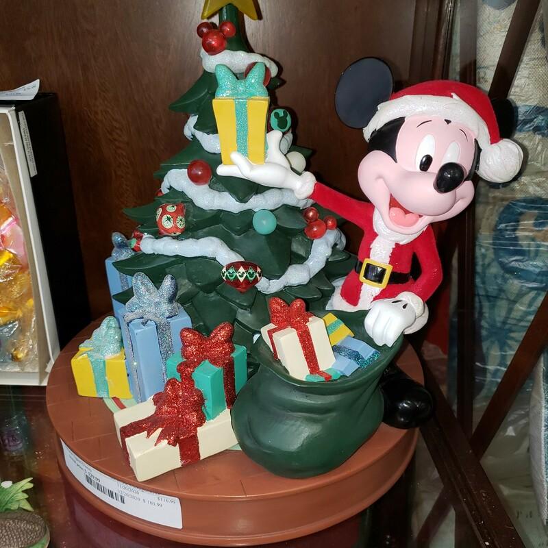 Designer Signed Disney Collectible Christmas Decoration