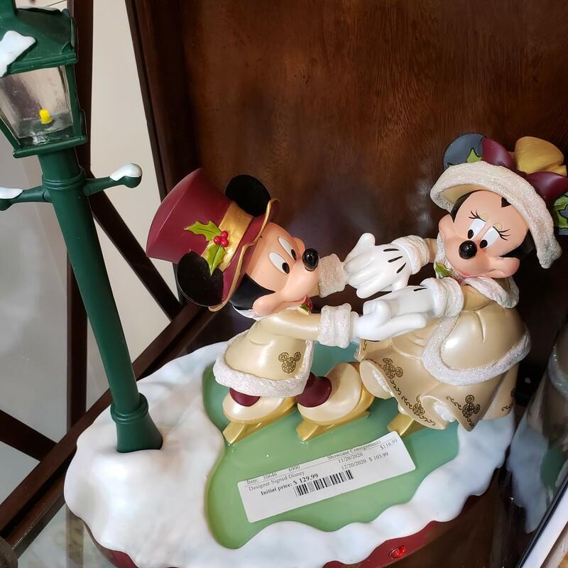Designer Signed Disney Christmas Decor