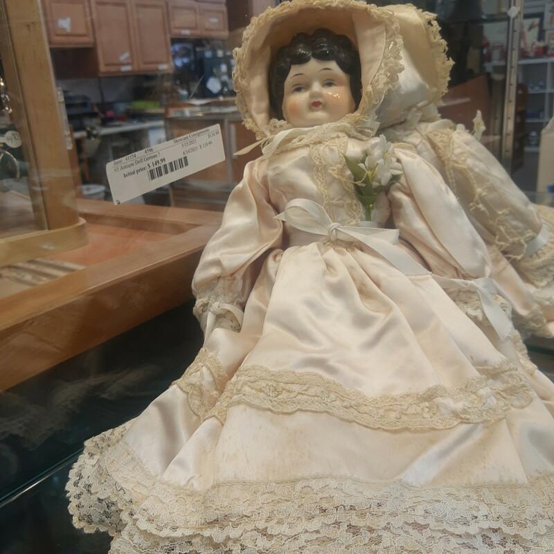 #5 Antique Doll, German?
