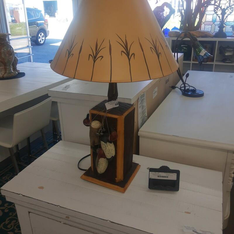 Duck Decoy Lamp