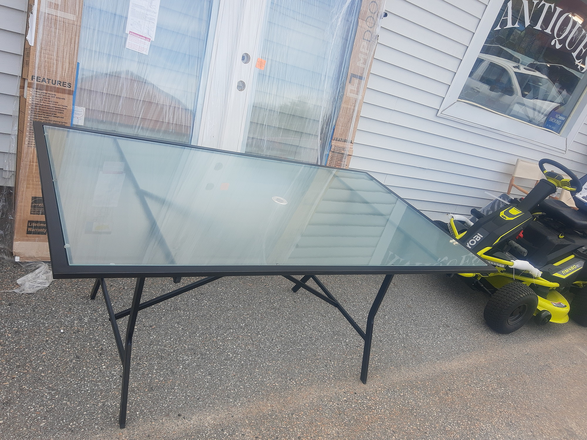 Patio Table Tempered Glass full size