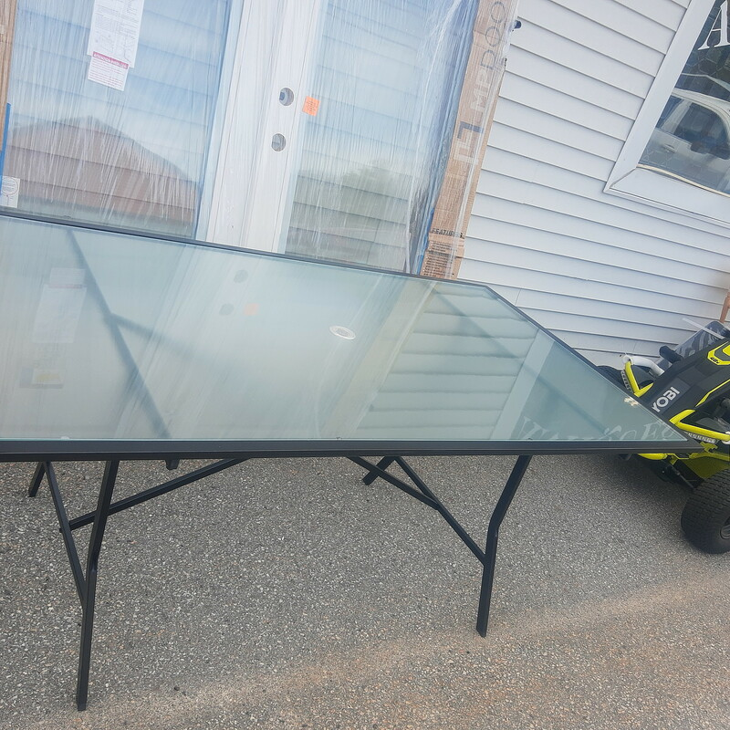 Patio Table Tempered Glas