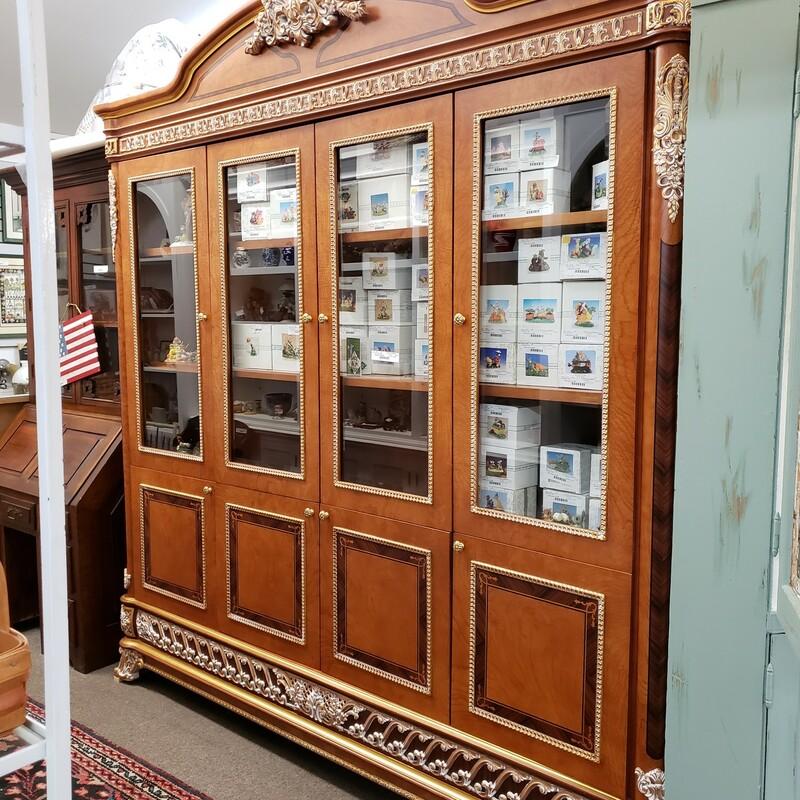 76 X 76 8 Door Cabinet, None, Size: None