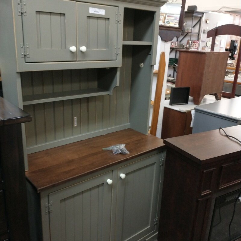 Wine Hutch Desk Cabinet
