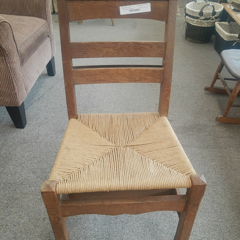 Cathedral Oak Chair
