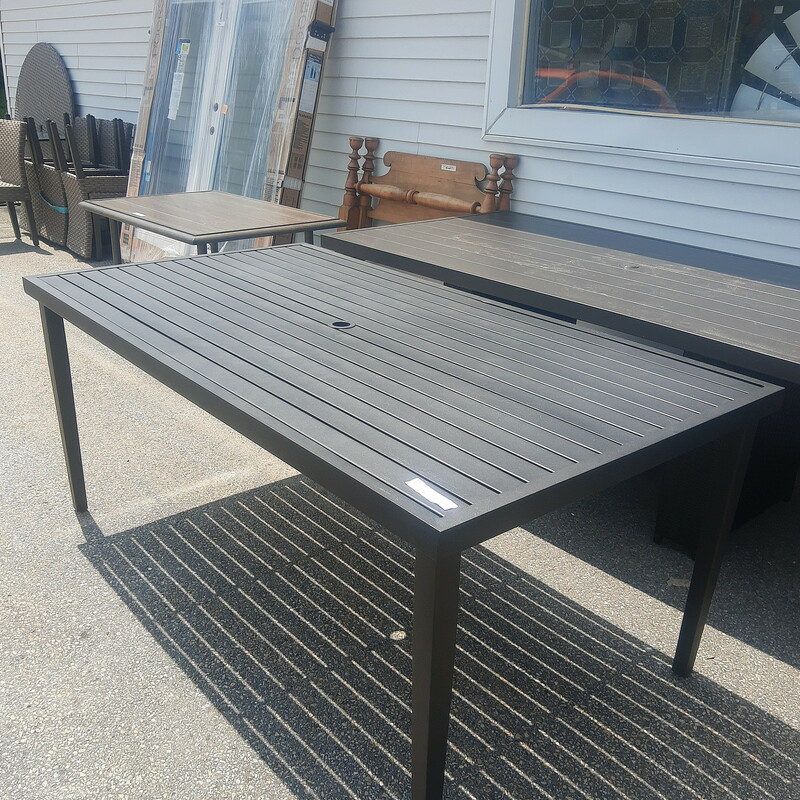 Metal Patio Table, None, Size: None