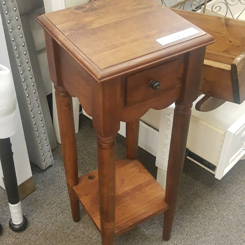 One Drawer Table