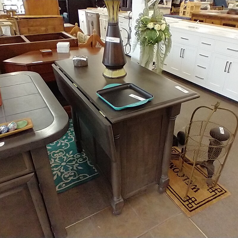 Drop Leaf Bar Island, Sunset Trading current production so more pieces available retail.