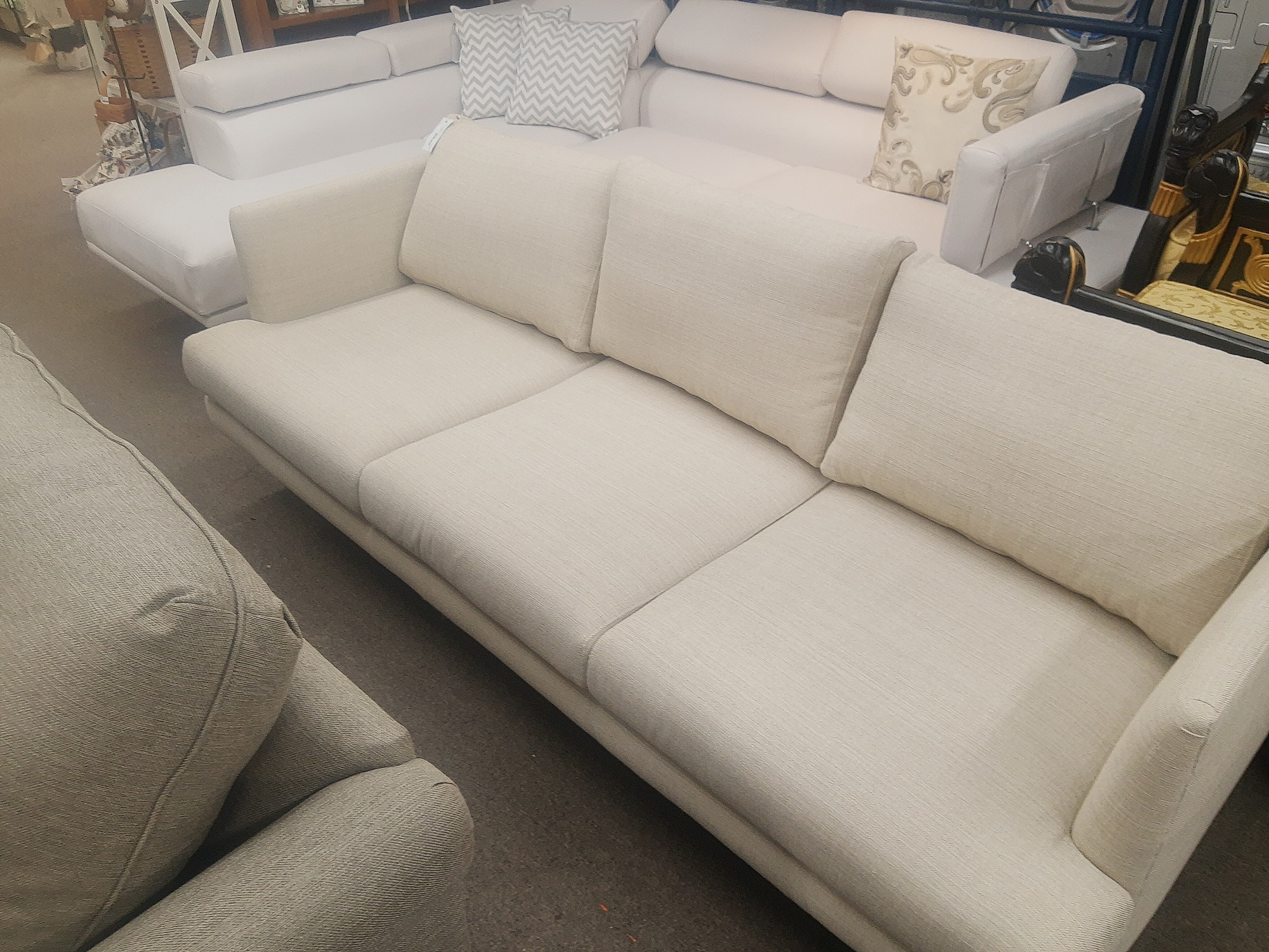 Sofa Company Tweed 84 inch Sofa 1100 retail price!