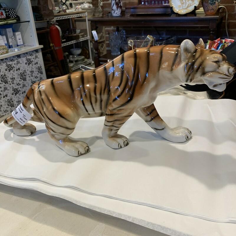 Royal Dux Tiger