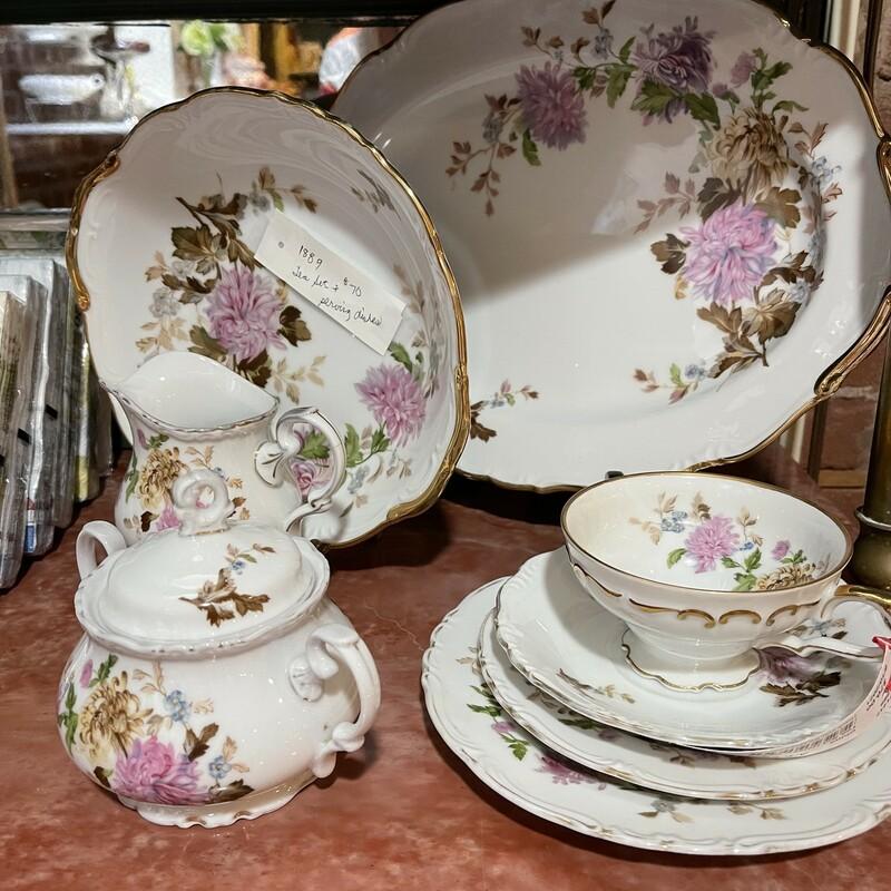 Halsey Tea Set Svc For 6