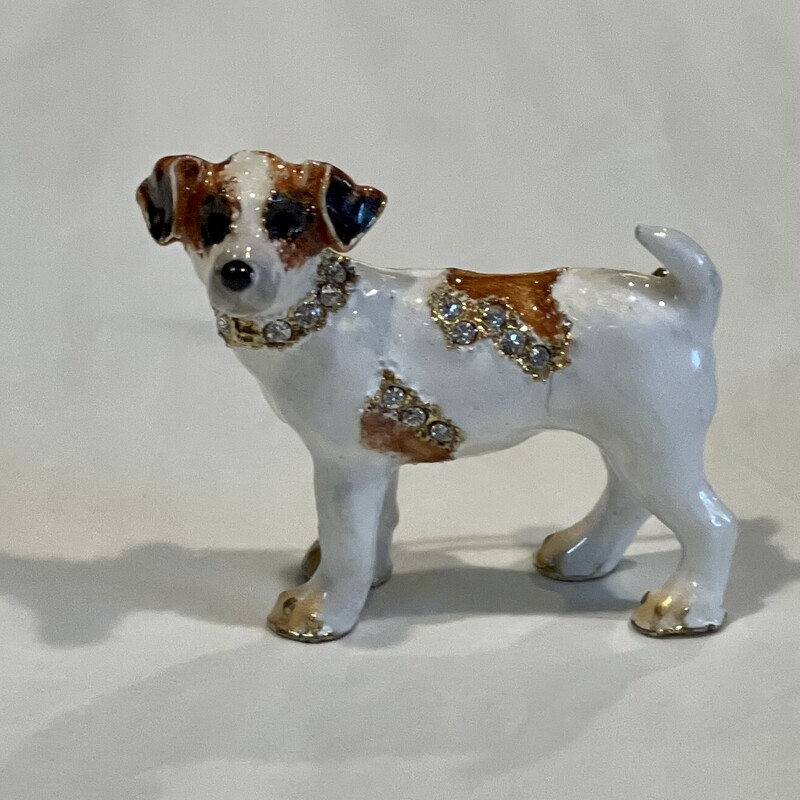 Wirehair Dog Pin