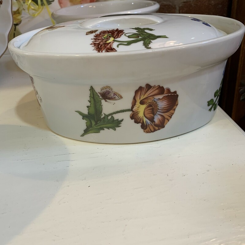 Floral Covered Casserole