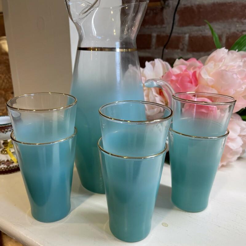 Lemonade Set W/ 6 Glasses