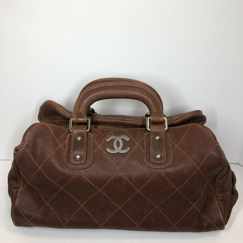 Chanel Brown Doctor Bag, -, Size: -