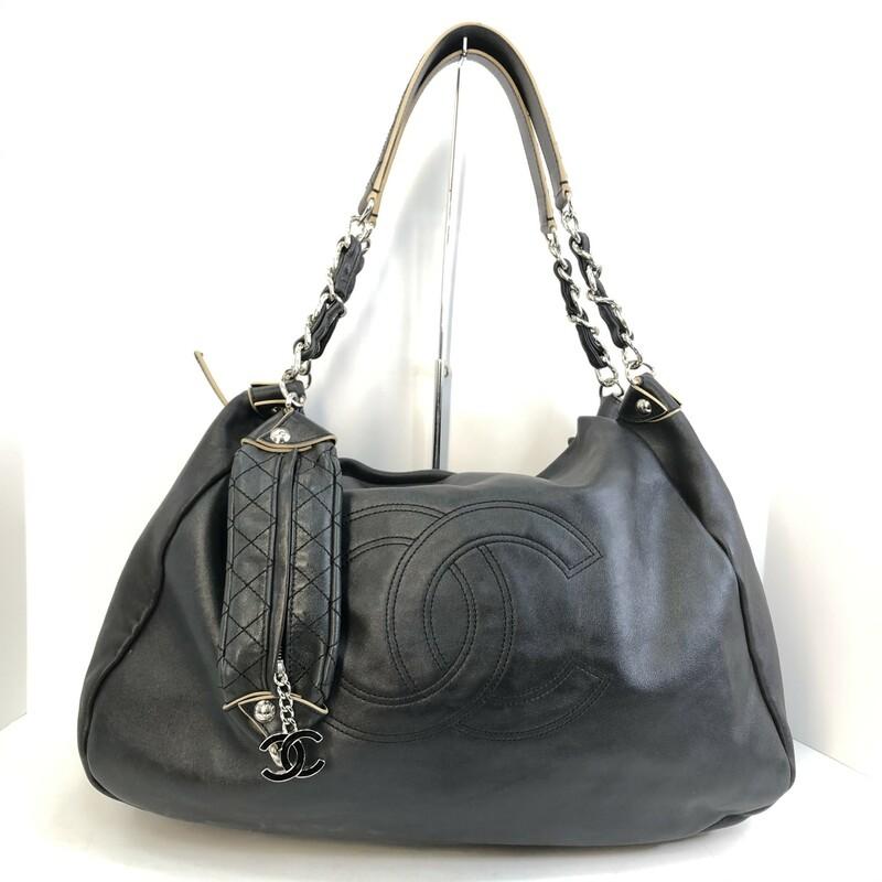 Chanel Edgy Hobo, -, Size: -