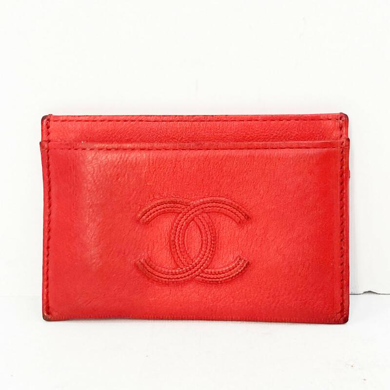 Chanel Lambskin CC Card H