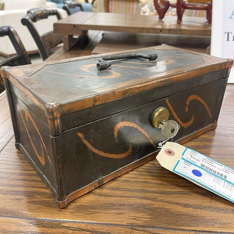 Handforged Lock Box