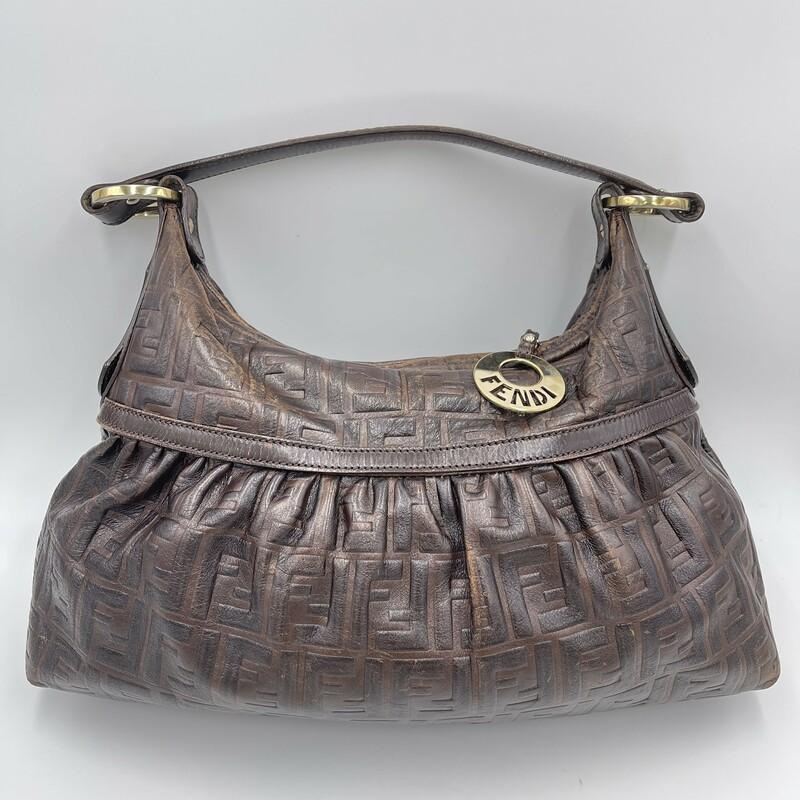 FENDI Zucca Chef/leather