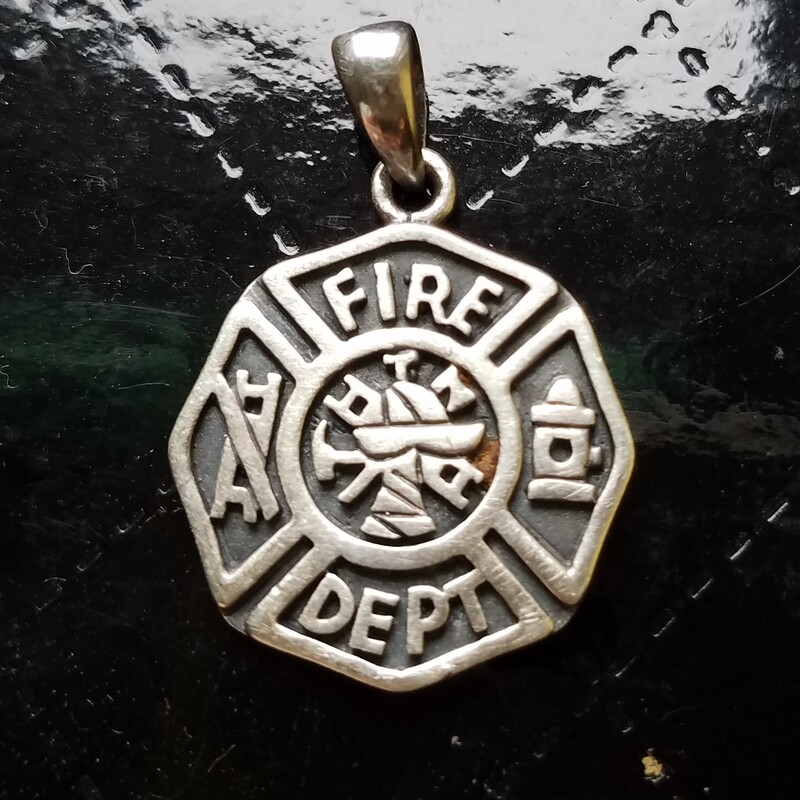 FIRE DEPT PENDANT