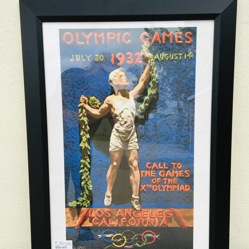 1932 Olympics Poster