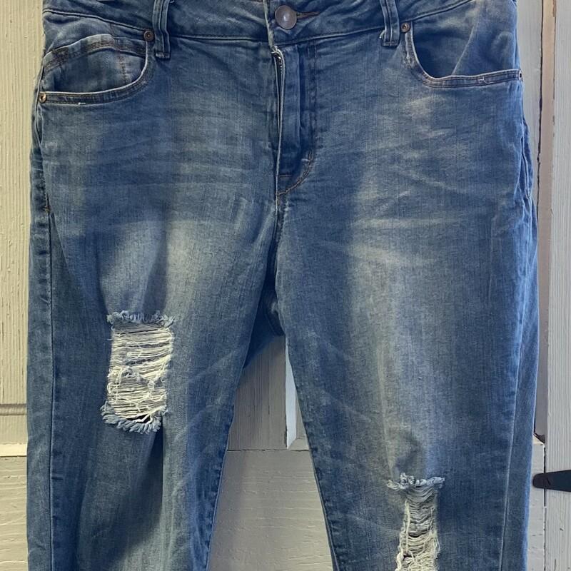 Denim Distressed Jeans