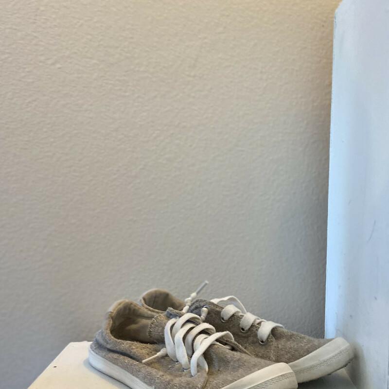 Tan Fleck Lace Sneaker