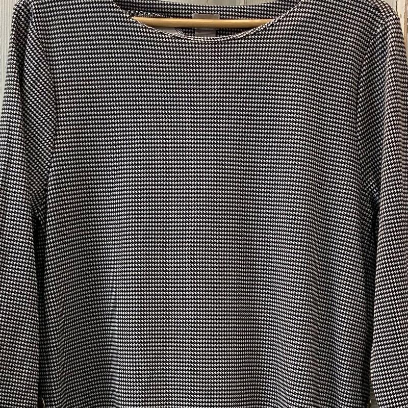 Blk/wht Pattern Tunic