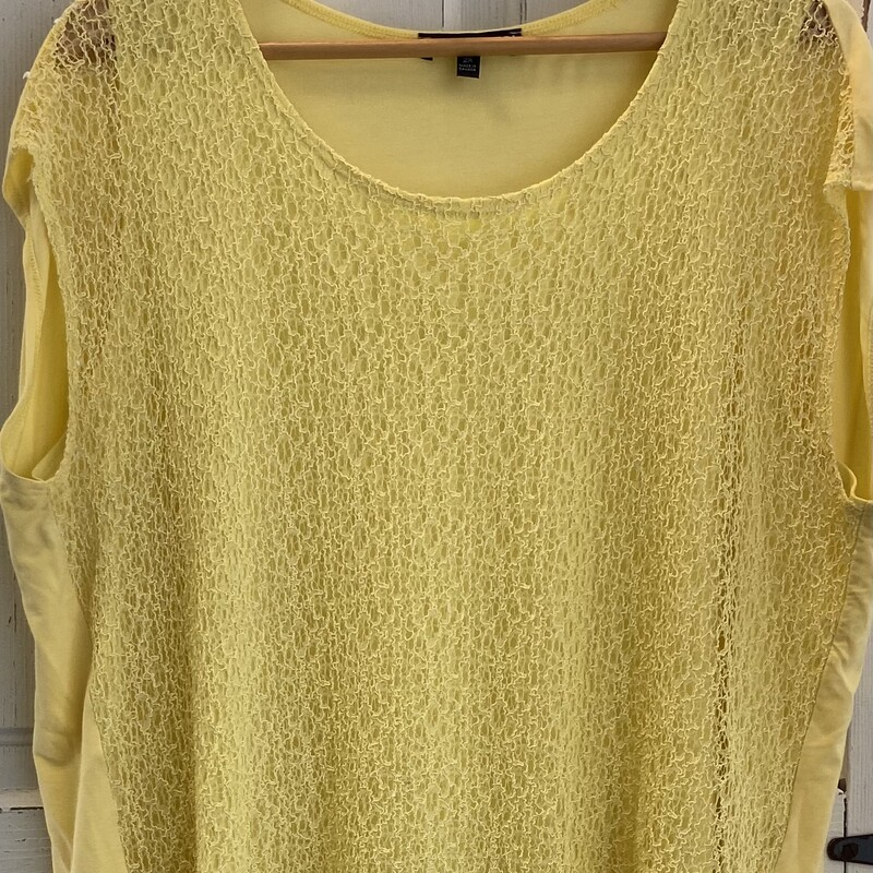 Yllw Lace Top