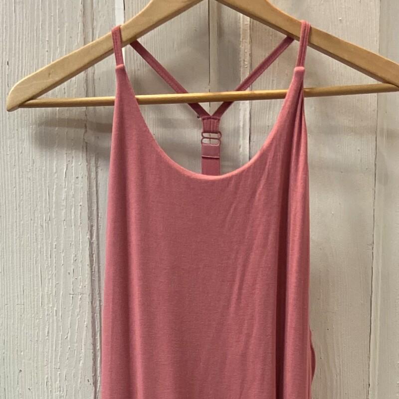Rose T-back Maxi Dress