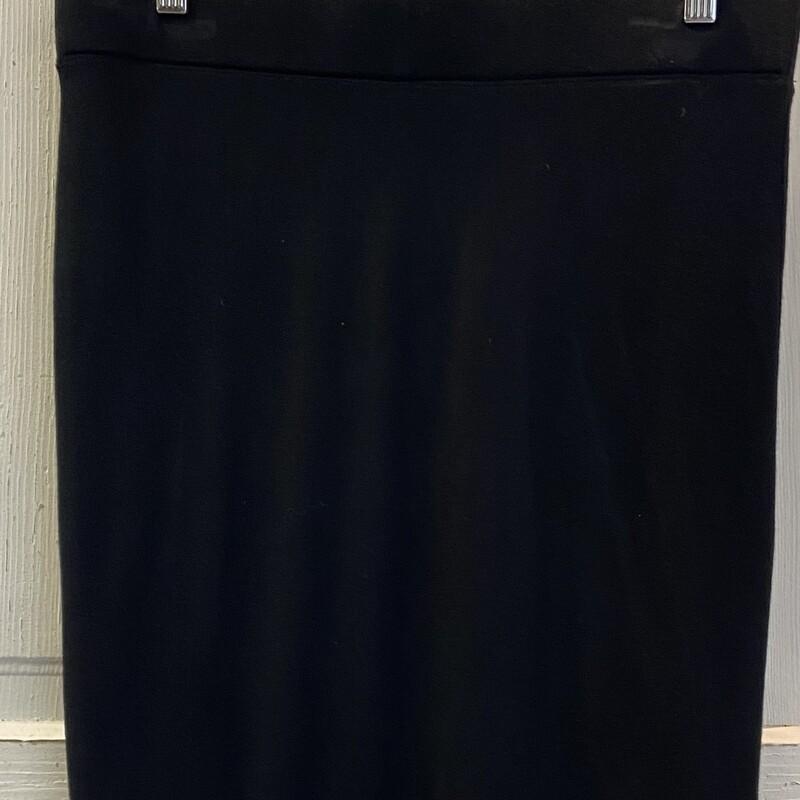 Blk Jersey Skirt