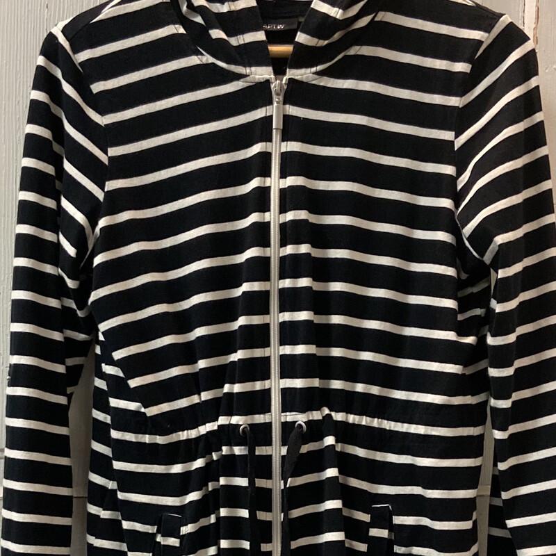 Blk/wht Stripe Jersey Jac