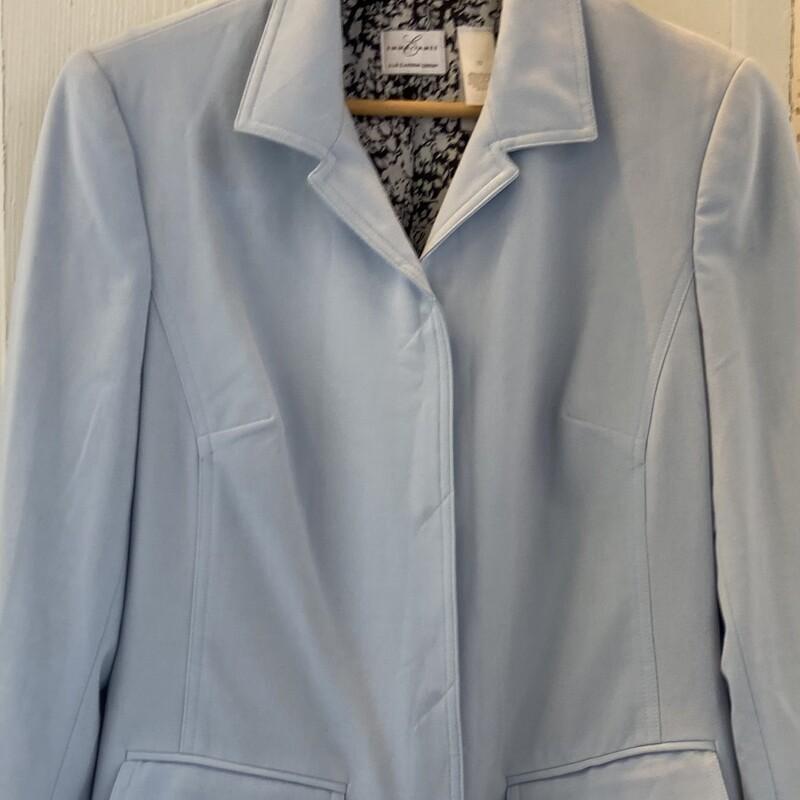 NWT Lt Blue Trench Coat