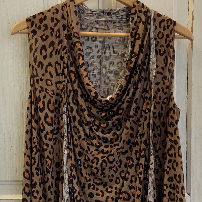 NWT Cheetah Cowl Tunic