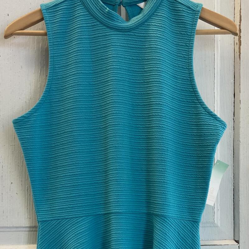 NWT Teal Sleeveless Dress