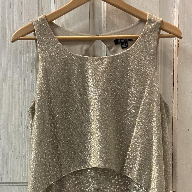 Gld Shimmer Dress