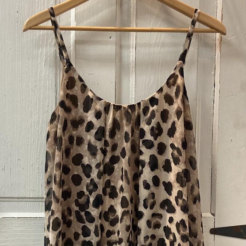 Cheetah Strappy Sheer Drs