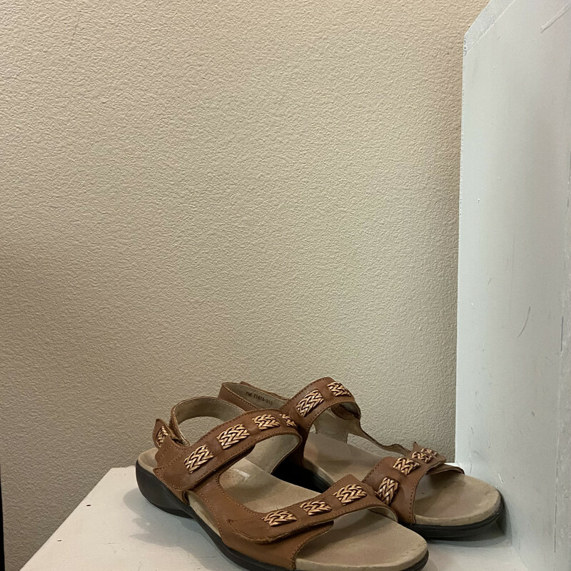 Brwn Leather Sandal