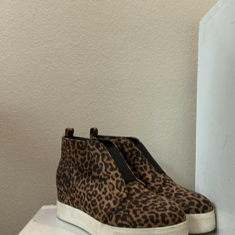 Cheetah Zip Wedge