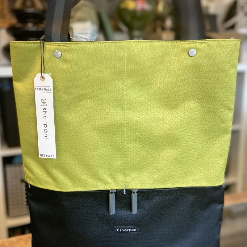 NWT Blk/lime Laptop Tote