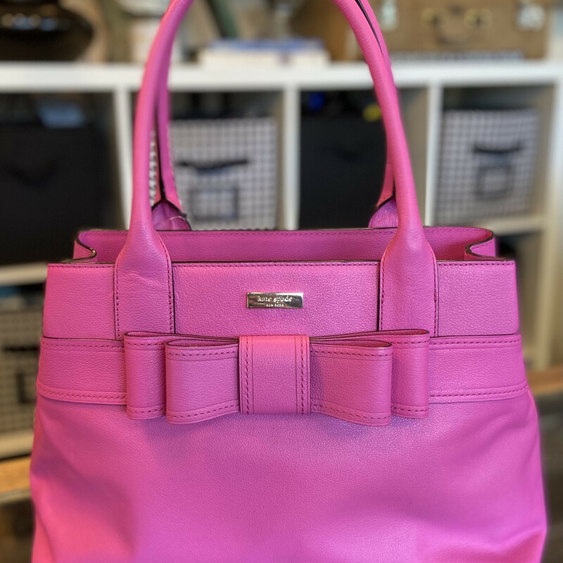 NWT Hot Pink Bow Purse