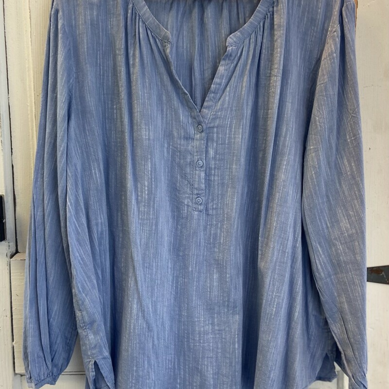 Chambry LS Button Top