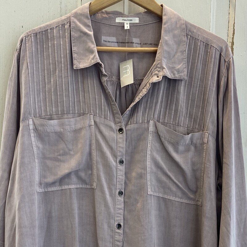 NWT Lavender Pleat But To