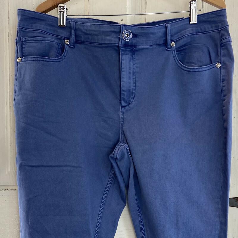 NWT Periwinkle Crop Jean