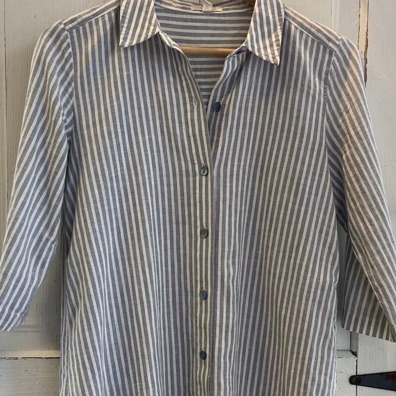 Lt Blue Stripe Shirt Drss