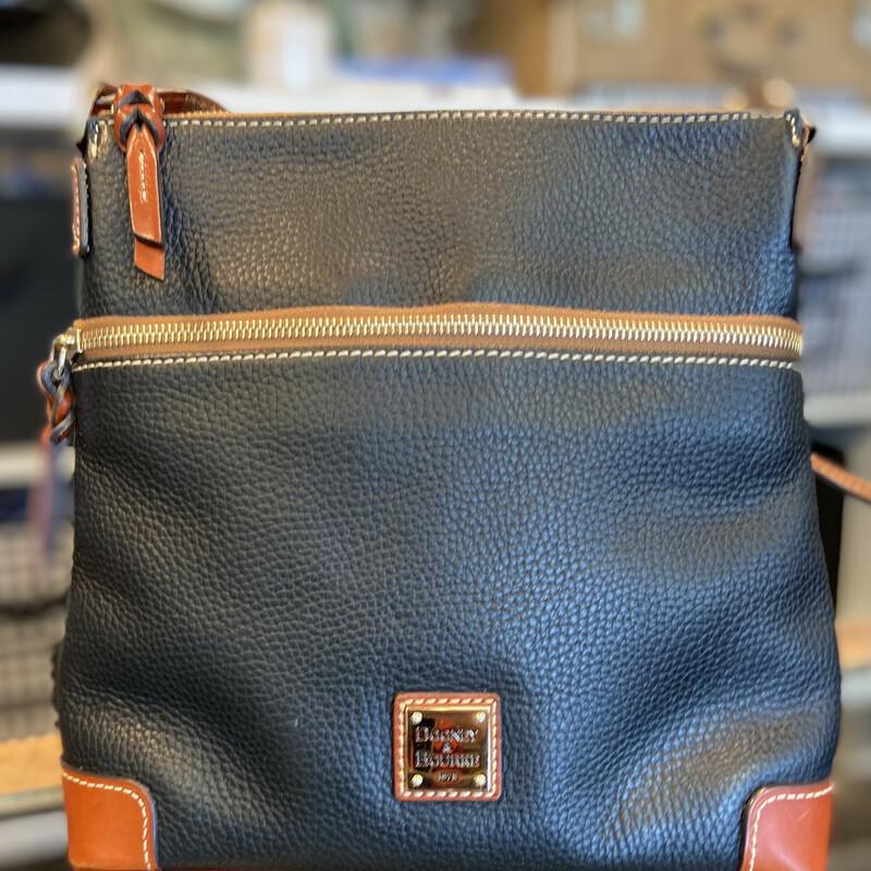 Nvy Leather Crossbody