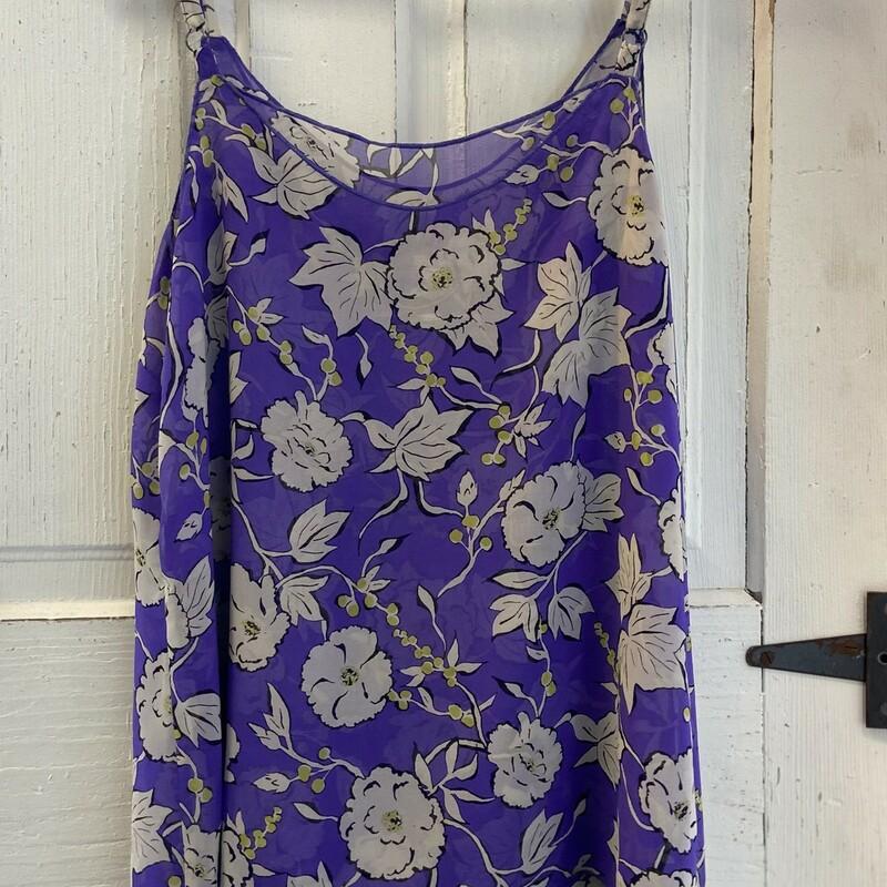 Purple Floral Drssy Cami
