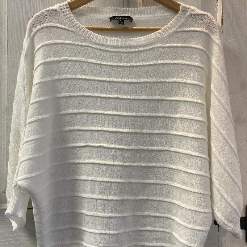Crm Ribbed Pullover Swtr