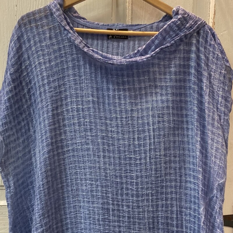 Periwinkle Cowl Slvless