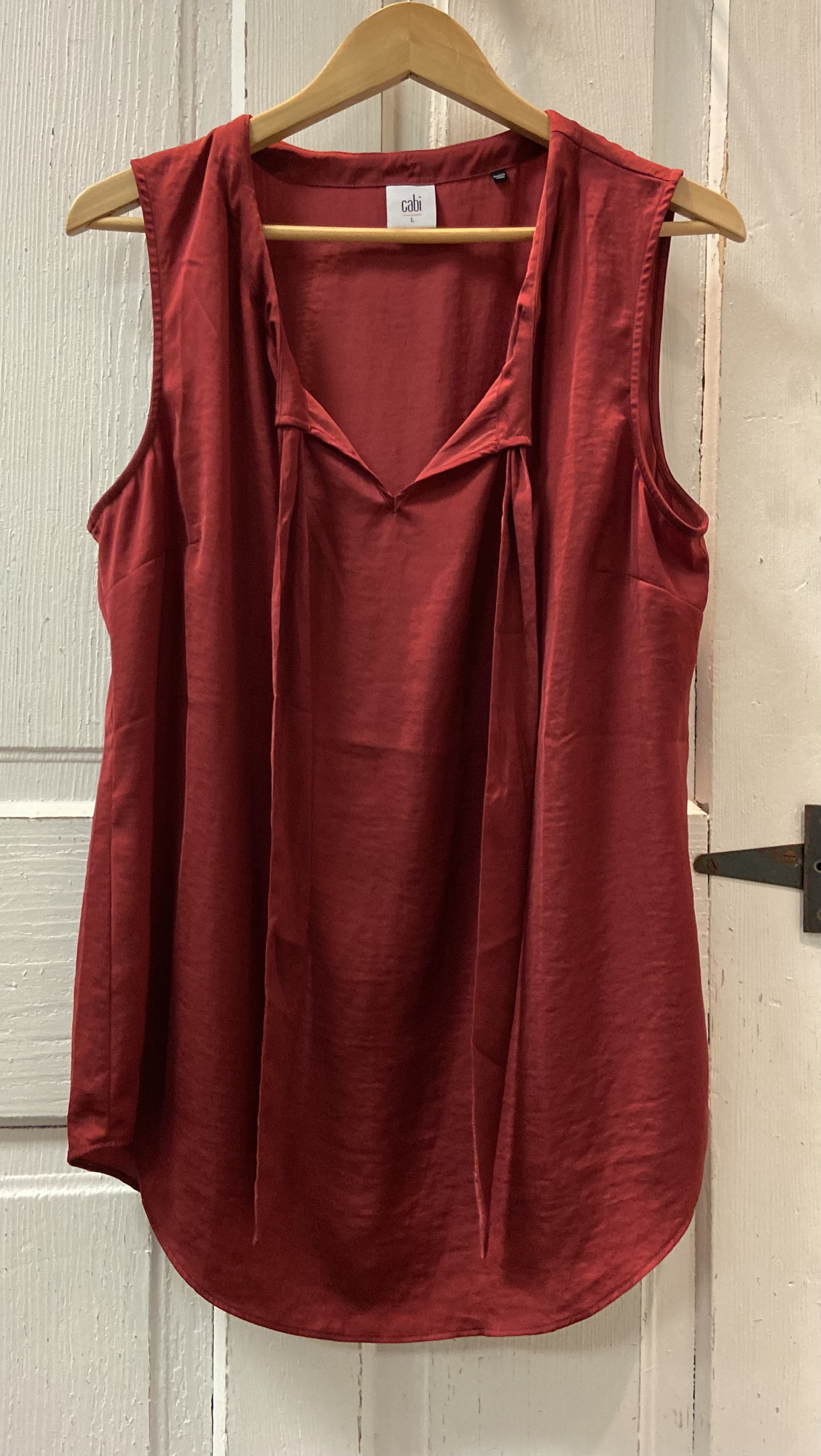 Merlot Dressy Tie Slvless<br /> Merlot<br /> Size: Large
